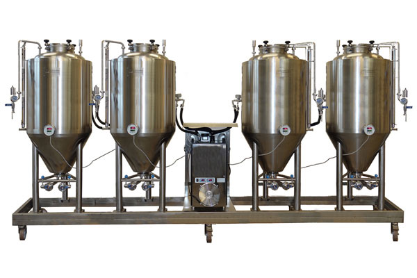 FUIC – Compact fermentation units with the independent cooling system