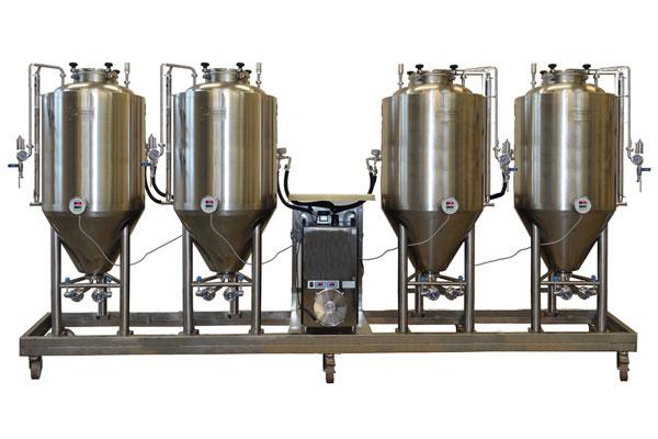 FUIC - Kompaktní fermentační jednotky s nezávislým systémem chlazení