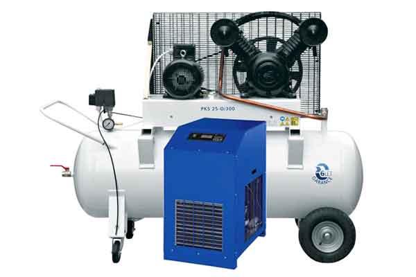 Vzduchové kompresory a příslušenství pro přípravu, čištění, dopravu a použití tlakového vzduchu.