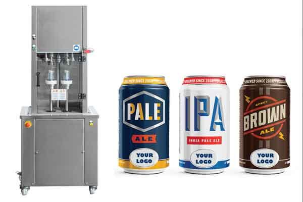 Zařízení pro plnění piva do plechovek