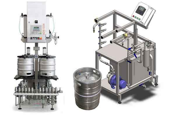 Zařízení pro plnění piva do sudů