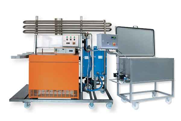 Equipment for the beer filtration