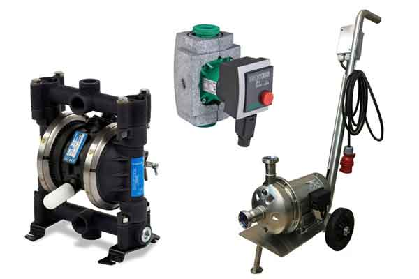 Pumps for breweries