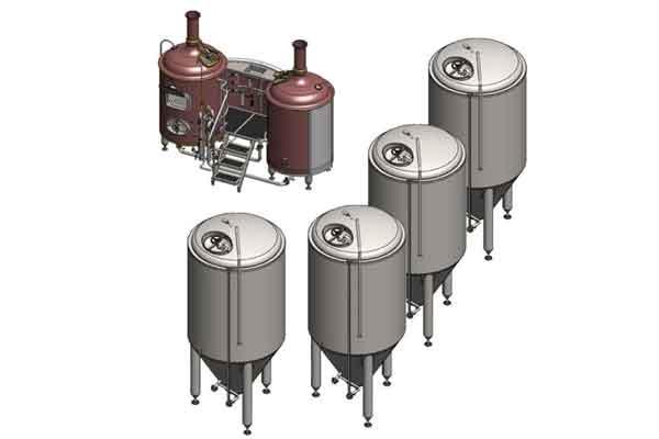Pivovarský systém BREWORX CLASSIC