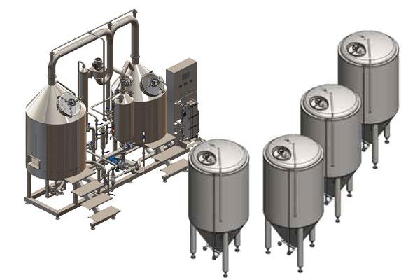 Pivovarský systém BREWORX CLASSIC-ECO