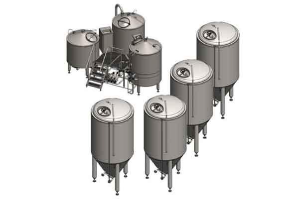 Pivovarský systém BREWORX COMPACT