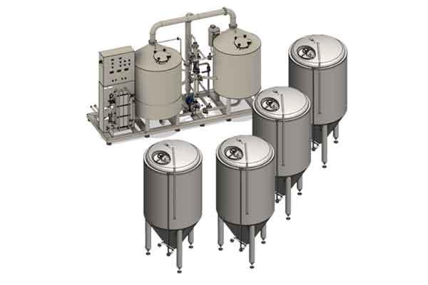 Pivovarský systém BREWORX LITE-ME