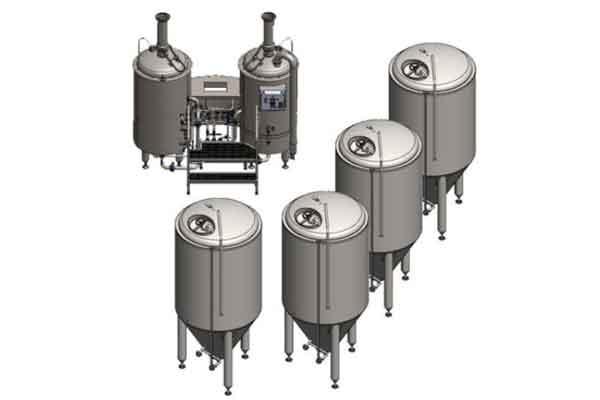 BREWORX LITE-ME brewery system