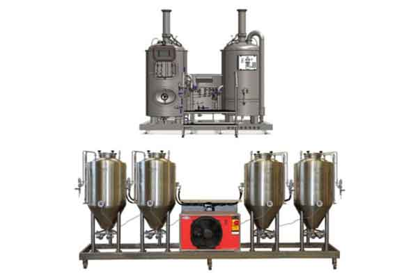 Pivovarský systém BREWORX MODULO