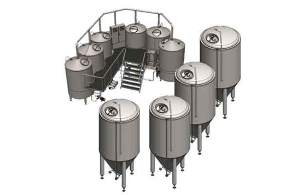 Pivovarský systém BREWORX OPPIDUM