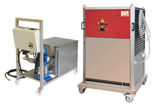사이다 생산 용 난방 시스템