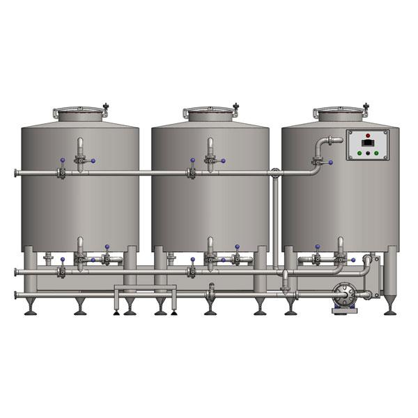 Macchine per la pulizia e sanitizzazione CIP