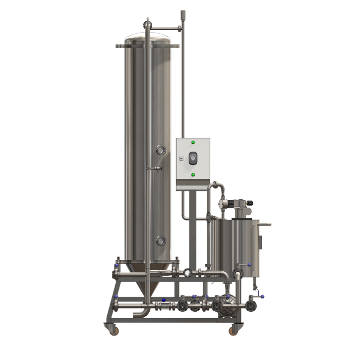 Equipment to filtering of beer
