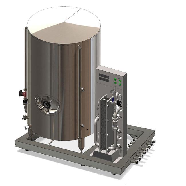 Kompaktní chladicí jednotky s náplní studené vody