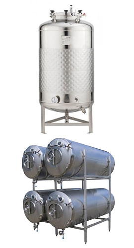 maturation tanks 270x500 - BPT | Beer production tanks