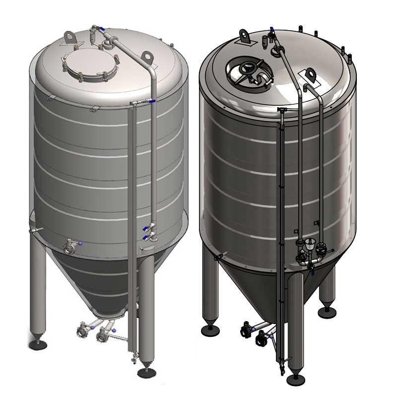 Serbatoi alla fermentazione primaria della birra