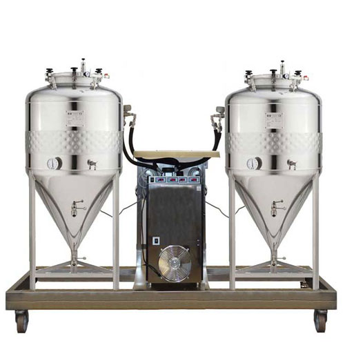 FUIC-SLP compact beer fermentation units