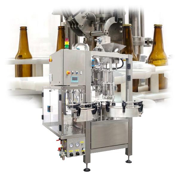 vysoká kapacita plnění piva do lahví