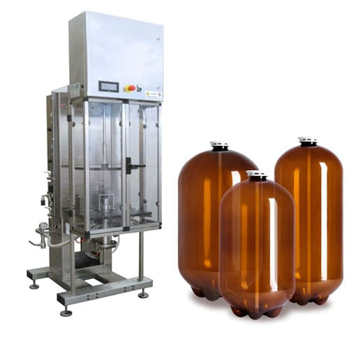 Filling Beer Into Pet Bottles And Petainers Cbs