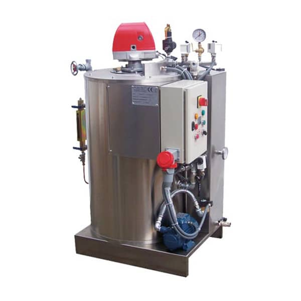 Pellet steam generators