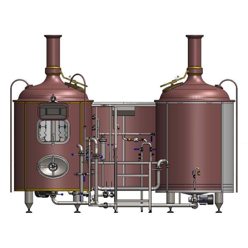 Stroj na výrobu mladiny pro pivovary BREWORX CLASSIC 600