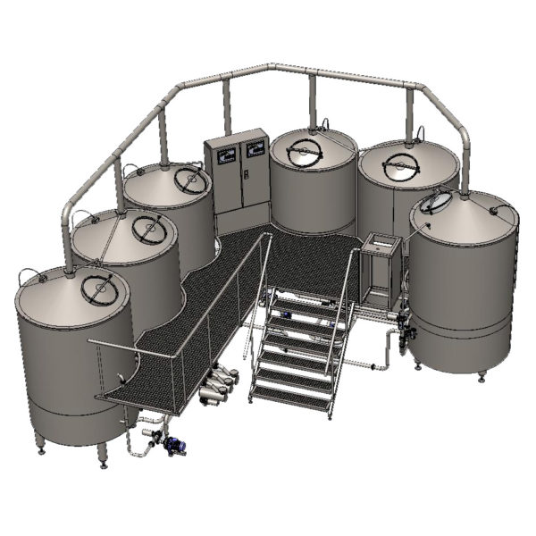 Wort boiling machine BREWORX OPPIDUM 1000