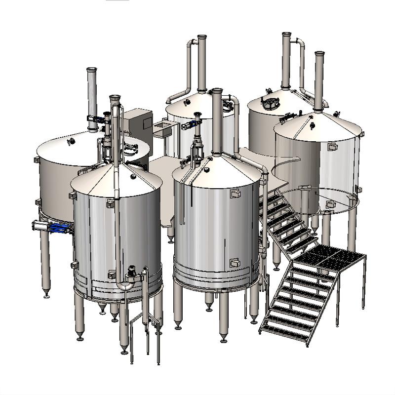 Wort boiling machine BREWORX OPPIDUM 6000
