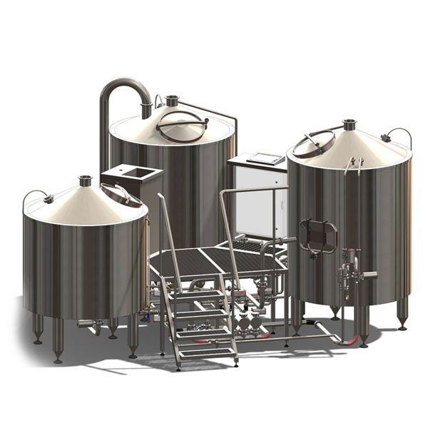Breworx TRITANK brewhouse wort machine