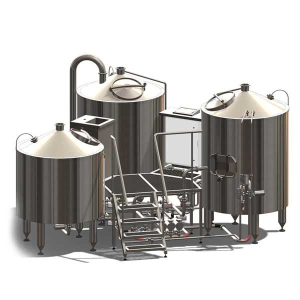 Brewhouses and wort production machines