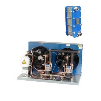 Split liquid cooling units