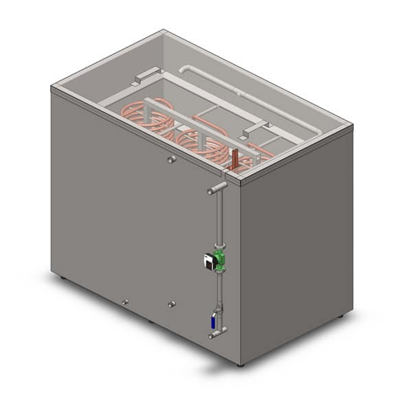 Tanks for cooling water